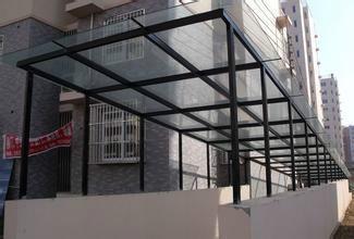 坡道钢结构雨棚用途报价