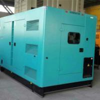 供应潍坊各功率发电机组静音箱 高级阻燃吸音棉 合理进排气出口 精美喷涂