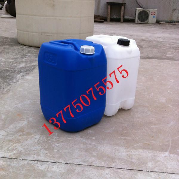 供应诸暨塑料油桶,25L升化工桶,25kg酵素桶,25升塑料方桶批发