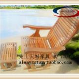 供应午休折叠睡椅,红木家具椅子 ,实木摇椅,睡椅,躺椅