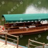 新世纪小木船价格/单亭船订做图片