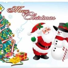 供应圣诞节贺卡
