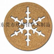 供应隔热防滑的水松木杯垫  天然产品 质量保证  产品定制