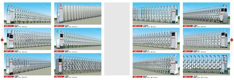 供应新罗电动门价格/长汀县不锈钢伸缩门厂家