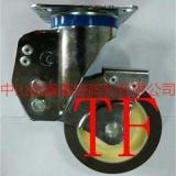 供应TF中型双轴承静音TPR减震定向脚轮-广东带弹簧影音轮,抗穿刺脚轮