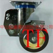 TF中型双轴承静音TPR减震定向脚轮图片