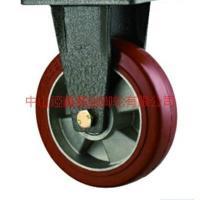 供应重型6寸8寸铝芯软胶耐高温定向脚轮-中山耐高温脚轮批发-高档高温脚轮