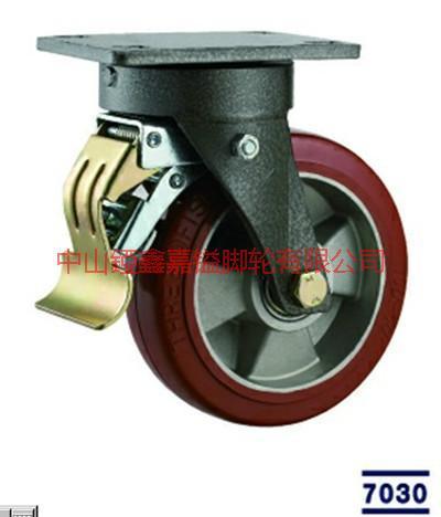 供应重型超重型软胶高温复合轮,嫩钩耐低温和耐高温的高温复合轮