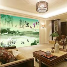 供应成都飞度壁画推存背景墙客厅画