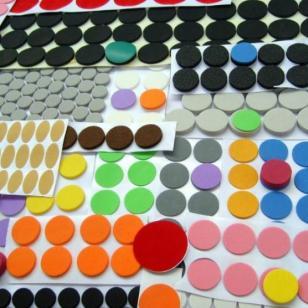 PVC透明脚垫.硅胶垫背胶模切图片