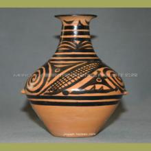 甘肃特产 纯手工彩陶 花瓶摆件 工艺品 马家窑半山文化彩陶彩陶罐