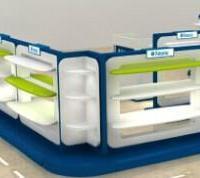 供应厦门专业童鞋展示柜生产厂家定做货架