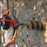 供应小型电动挖坑机,油手提式挖坑机 林业机械  购买挖坑机首选