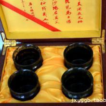 供应酒泉夜光杯4只装竹节杯酒杯