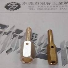 供应铜类螺丝,铜紧固件加工,机箱机柜铜紧固件,电机用铜六角螺柱图片