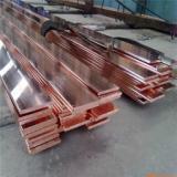 供应深圳接地母线排批发圆角T2紫铜排价格,异形紫铜排加工,T2紫铜排折弯