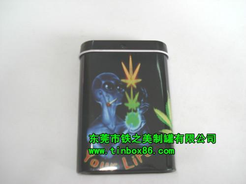 供应马口铁烟盒/香烟铁盒/雪茄铁盒