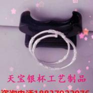 银戒指图片