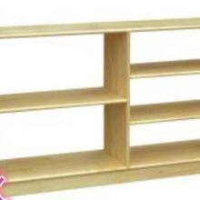 供应幼儿园实木玩具柜JX-050303图片