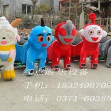供应广场毛绒动物电动车毛绒电动玩具车新款毛绒动物电瓶车毛绒玩具车图片
