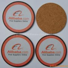 供应哪里有软木锅垫、软木家居用品、上海广告软木杯垫