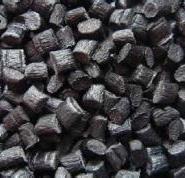 黑色hips再生料颗粒改苯回料图片