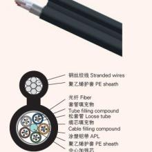 供应甘肃海南8字型层绞式光缆GYTC8A