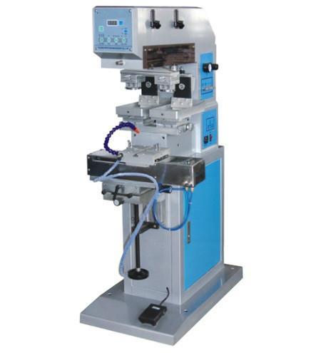 供应双色穿梭移印机 ,1010-2CSH双色穿梭移印机,热销双色穿梭移印机