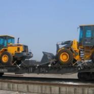 蒙古大件设备专业加固车皮铁路代理图片