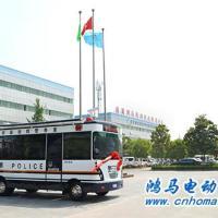 川北川县鸿马高科技移动警务室