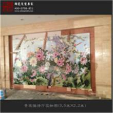 供应定制家居装饰陶瓷壁画手绘陶瓷壁画图片
