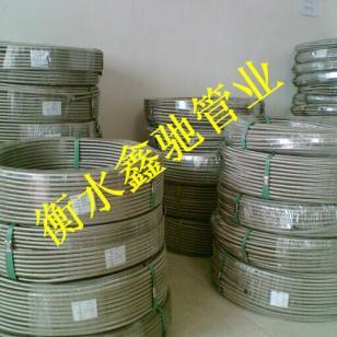 不锈钢铁氟龙编织管厂家图片