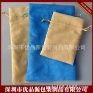 手机绒布袋移动电源布袋充电宝布袋图片