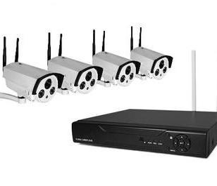 家堡4路720P增强型高清监控NVR套装图片