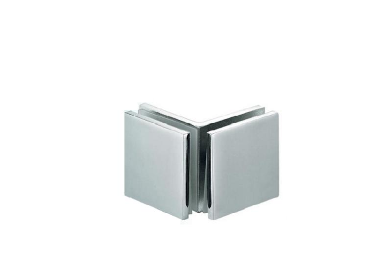 申和卫浴五金供应专业的T型玻璃隔断码浴室门隔断价位T型玻璃隔断码斢