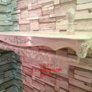 新款欧式木质烤漆上墙侧挂图片