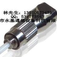 FC圆形裸纤适配器法兰图片