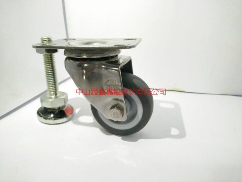供应TF2寸304不锈钢静音万向脚轮-不锈钢轮厂家-专业生产不锈钢脚轮