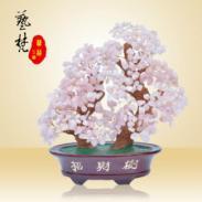工艺品水晶树摆件百年好合特色礼物图片